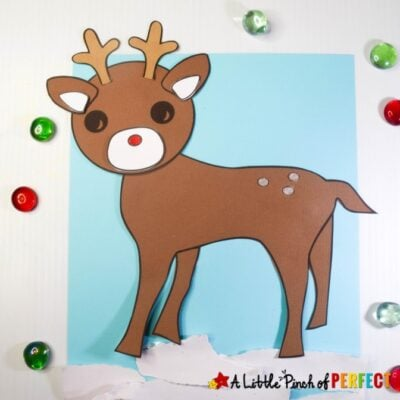 Reindeer Christmas Craft Activity for Kids