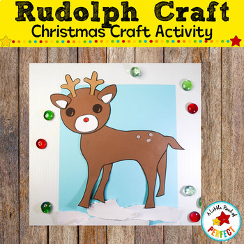 Kids will love making their own adorable reindeer craft this holiday season. Using the craft template, they can color their reindeer's nose red or black for Rudolph or the rest of Santa's Reindeer. The craft is ready to print and easy to make using the step by step directions. (#reindeer #christmas #christmascraft #craft #kidsactivity #printable #preschool #kindergarten #firstgrade)