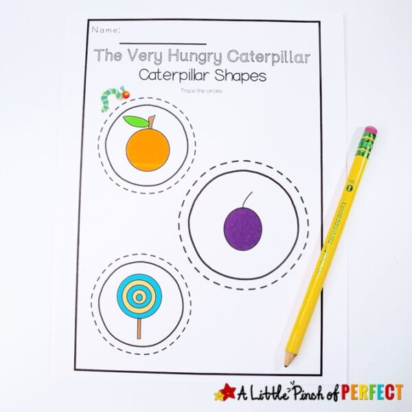 The Very Hungry Caterpillar Printable Activity Pack: This adorable pack of engaging activities will teach children letters, numbers, phonics, fine motor skills, shapes, life cycle of a butterfly, nutrition, days of the week, and more. It makes teaching and learning fun and easy. (#preschool #kindergarten #printables #kidsactivities #homeschool)