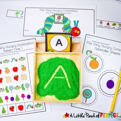 The Very Hungry Caterpillar Printable Activity Pack