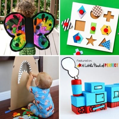 50 + Clever Cardboard Box Boredom Buster Kids Activities
