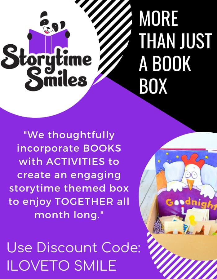 Storytime Smiles Childrens book subscription 700x900 More than just a book box (#kidsactivities #childrensliterature #preschool)