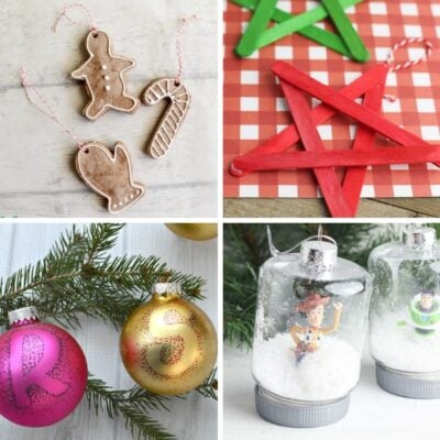 15+ Homemade Christmas Ornament Crafts for Kids