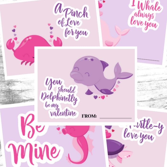 Free Printable Valentine's Day Cards for Kids: Have a blast celebrating one of your kids' favorite holidays with these super cute Valentine's Day Cards you can print at home. #valentinesday #card #kids #printable