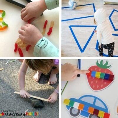 Hands on Math Activities for Preschool