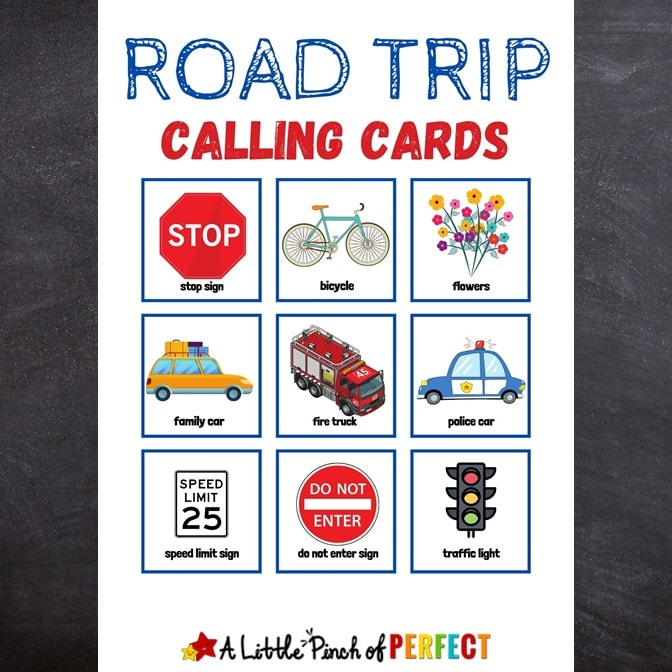 Make driving in the car fun for your kids and the whole family with this free printable Road Trip Bingo Game. Check out the directions for 2 ways to play and how to set up the game so you can play more than once. #kidsactivity #roadtrip #printable