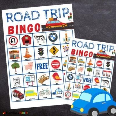 Road Trip Bingo Game Free Printable Kids Activity
