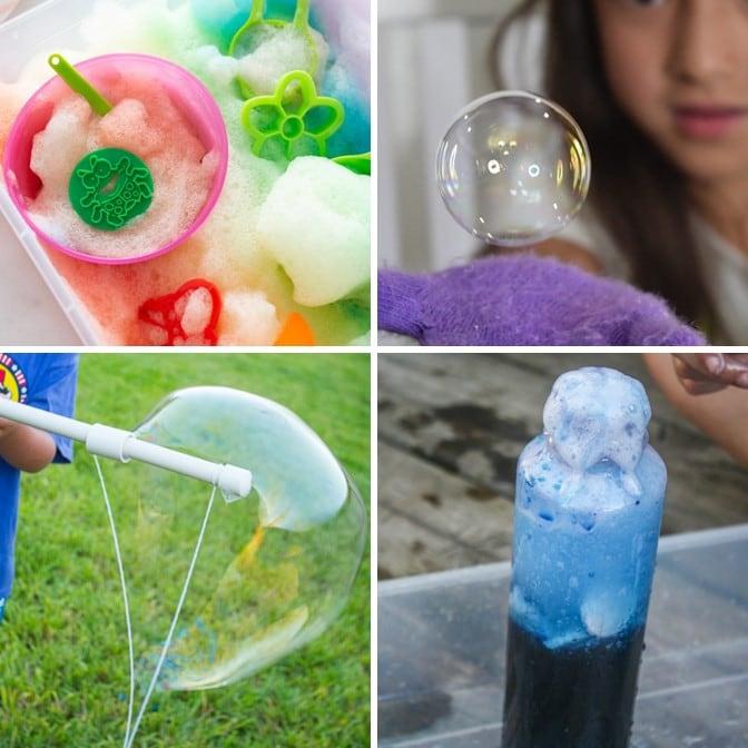 The Best Bubble Activities for Kids Outdoor and Indoor Play #kidactivities #summerfun #bubbles