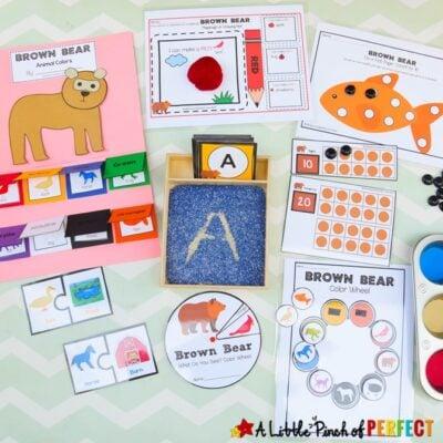 Brown Bear What Do You See? Activity Pack
