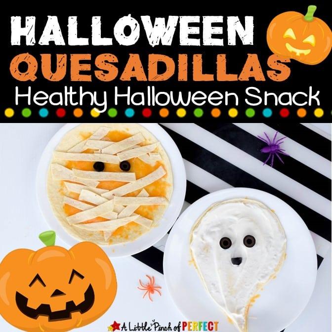 Halloween Quesadillas Kid Food