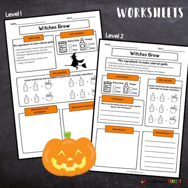 Witches Brew Printable Worksheets for Kids