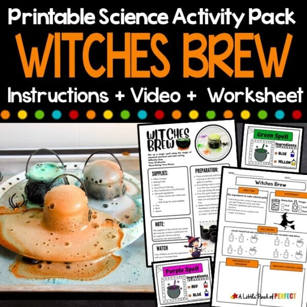 Witches Brew Science Experiment