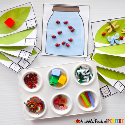 Catch a Bug Math Activity and Free Printable