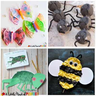 16 Creative Ways to Make Bug Crafts with Kids