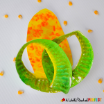 Paper Plate Corn: Easy Harvest Craft for Kids to Make