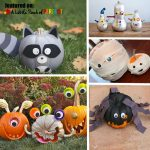13 Not So Scary Halloween No-Carve Pumpkins for Kids