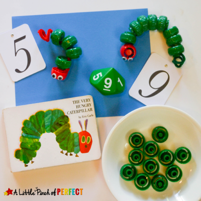 Counting Caterpillars Math Activity Inspired by the Hungry Caterpillar